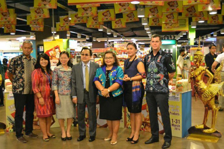 Dubes Thailand pada Acara Opening Experiencing Thailand 2014