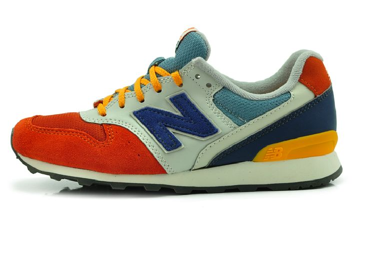 New Balance LifeStyle Athletic Sneakers Orange WR996GP
