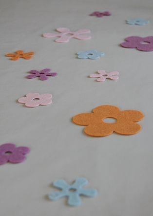 Bordpynt blomster...