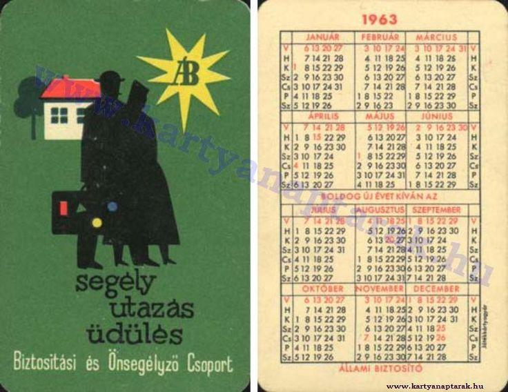 1963 - 1963_0102 - Régi magyar kártyanaptárak