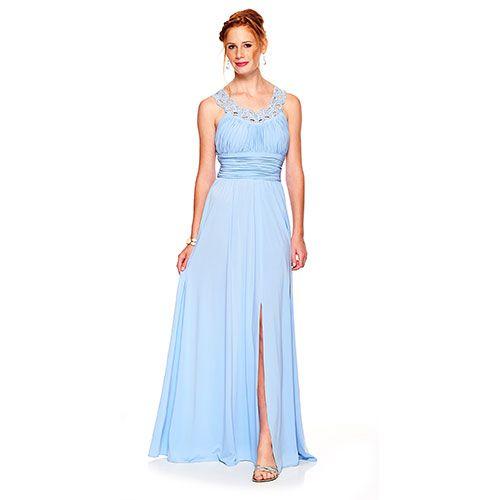 Boscov's Blue Prom Dress