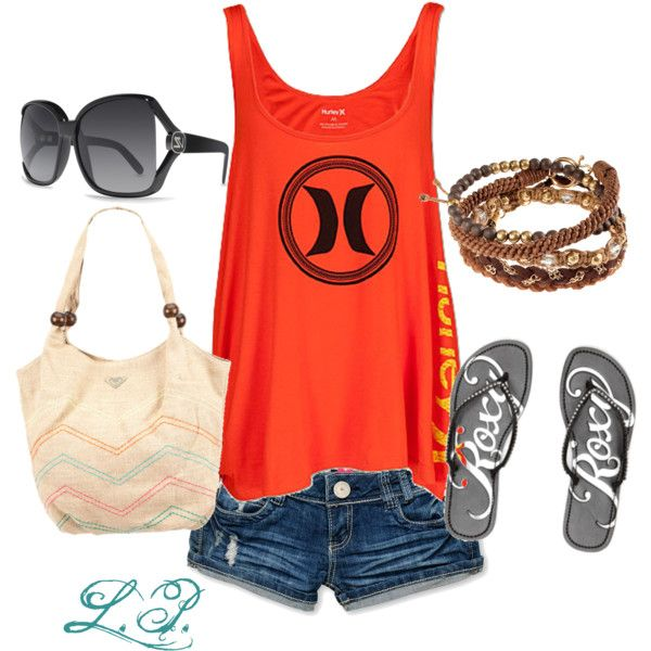 Summer Love, created by leesi09 on Polyvore