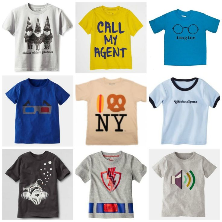 Super Cute Summer Graphic Tees For Kids And Babies Boys