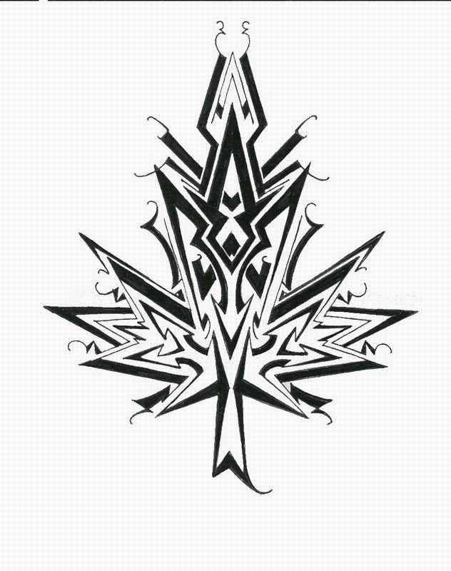 maple leaf drawing - Recherche Google