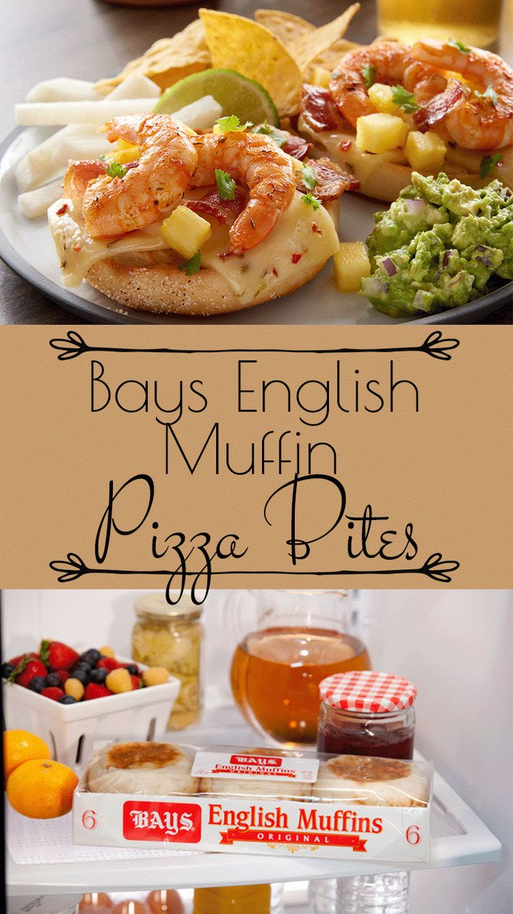 Bays English Muffin Southwest Shrimp, Bacon and Pineapple Pizza