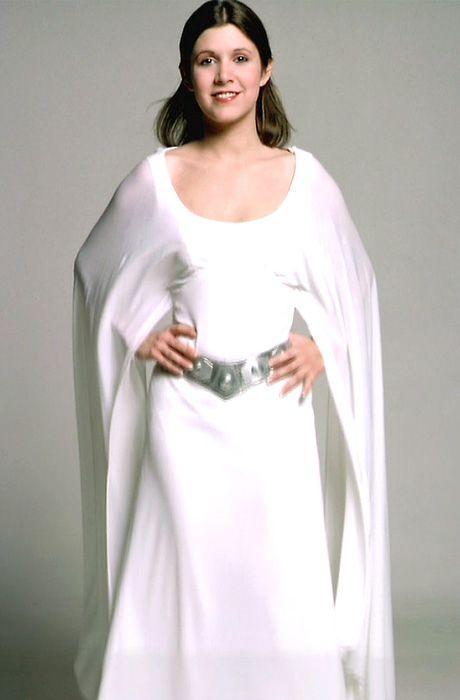 Vestido de la princesa Leia