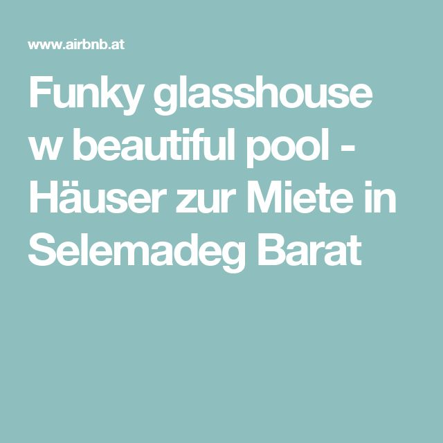 Funky glasshouse w beautiful pool - Häuser zur Miete in Selemadeg Barat