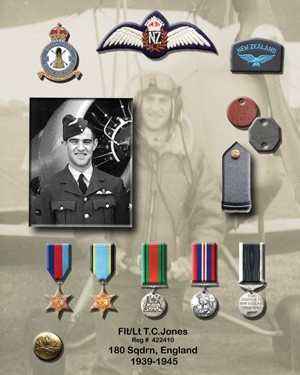 WW 2 Medal memorials.