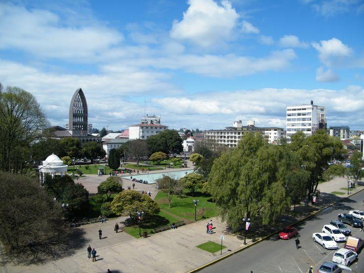Plaza de Armas de Osorno, Osorno, Región de Los Lagos, Chile