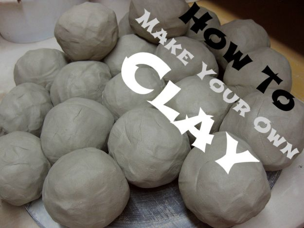 Recipes for all different types of clay and play dough using simple ingredients! 9. Make Your Own Clay   Community Post: 19 DIYs For The Artist In You