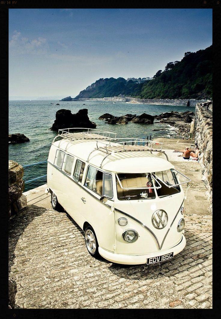 Beautiful VW Camper van #travelling