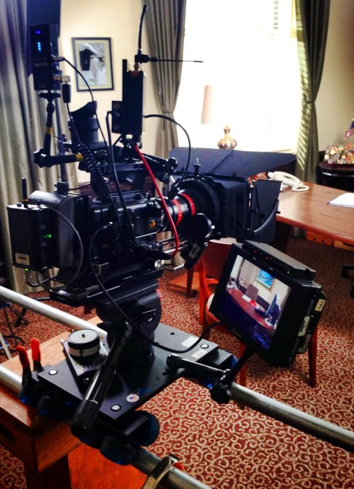 Our Sony F5 all rigged up!