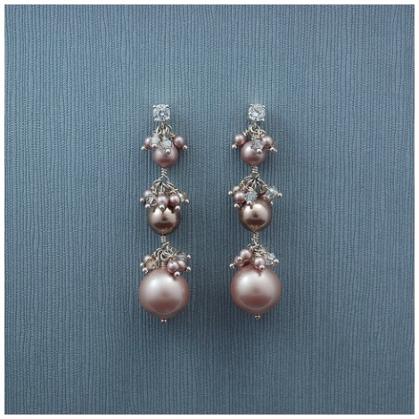 Victoria Earring-PNKCHM Nancy Ciccone