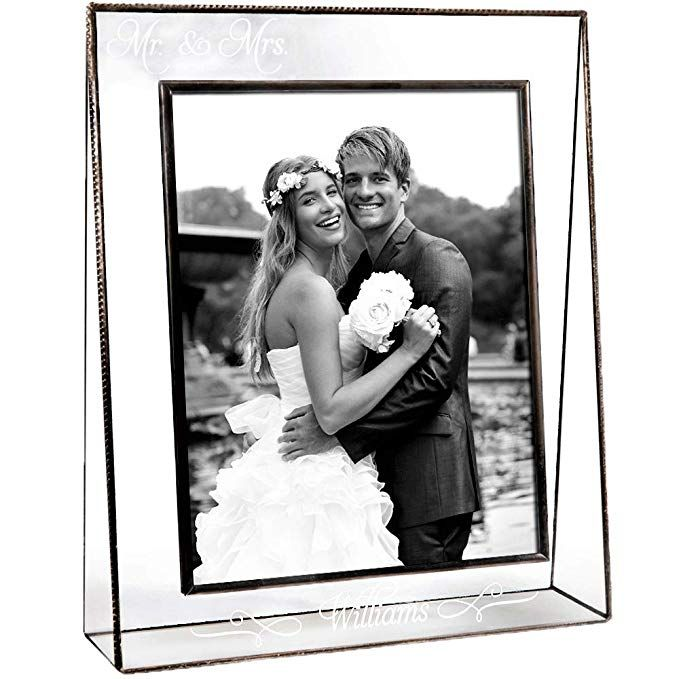 J Devlin Pic 319 81v Ep503 Personalized Wedding Picture Frame Tabletop 8 X 10 Vertical Photo Frame Engraved Glass Review With Images Personalized Wedding Picture Frame Wedding Picture Frames Wedding Pictures