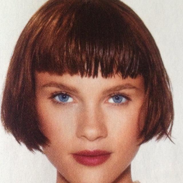 Dutch Boy Hair Cut Beautiful And Blunt Hair