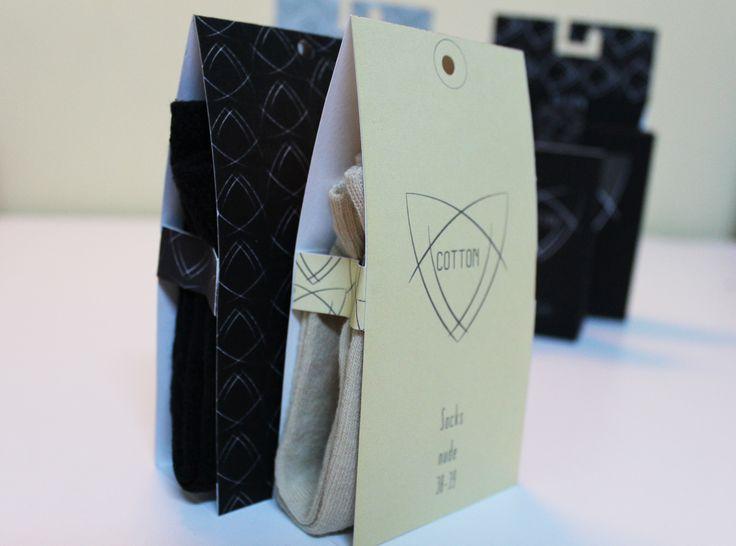 Tights & socks package design  By Ayşegül Çorok