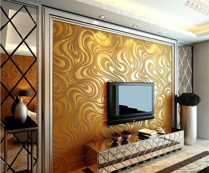 High quality modern luxury 3d wallpaper roll for 3d wallpaper roll