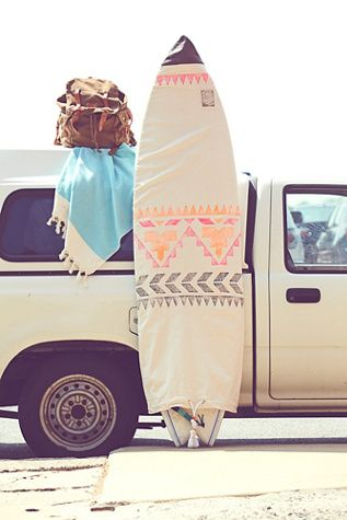 Limited Edition Surfboard Bag | Free people soul surfers and their surfboards, this American made limited edition piece is the perfect gift to give, get, or keep!