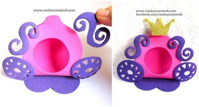 Aprende cómo hacer hermosos dulceros y centros de mesa princesa sofía ~ cositasconmesh