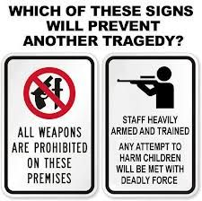 Image result for GUN FREE ZONES MEME