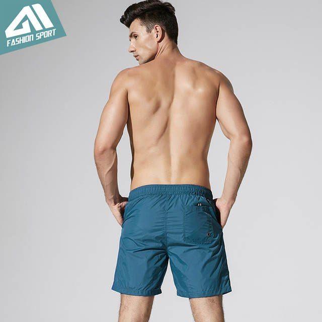0419f33ff9 Online Shop 2018 New Quick Dry Mens Swim Shorts Summer Mens Board Shorts  Surf Swimwear Beach Short Male Athletic Running Gym Short DT82 | Aliexpress  Mobile