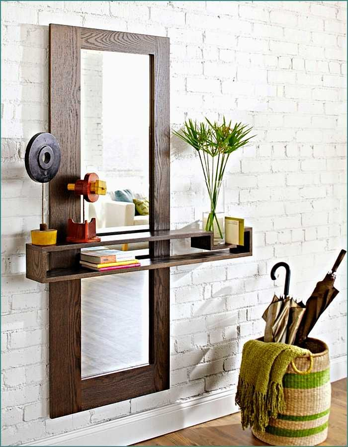 7942 best furniture images on pinterest columns for Hallway mirror and shelf