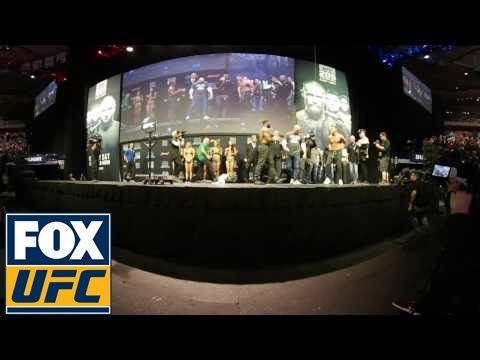 MMA Tyron Woodley Weigh in   360 Video   UFC 205