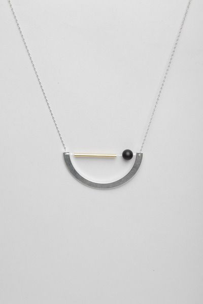 Totokaelo - FAUX/real - Being Relaxing Necklace - Silver/Gold