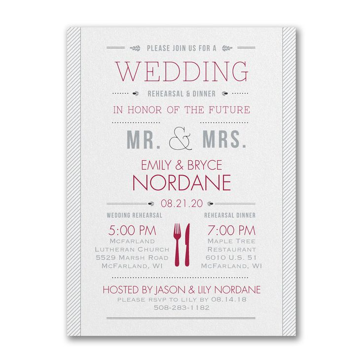 28 best ♥REHEARSAL DINNER INVITES♥ images on Pinterest - business dinner invitation sample
