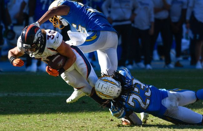 Denver Broncos Vs Los Angeles Chargers 12 1 19 Nfl Pick Odds And Prediction Los Angeles Chargers Denver Broncos Nfl