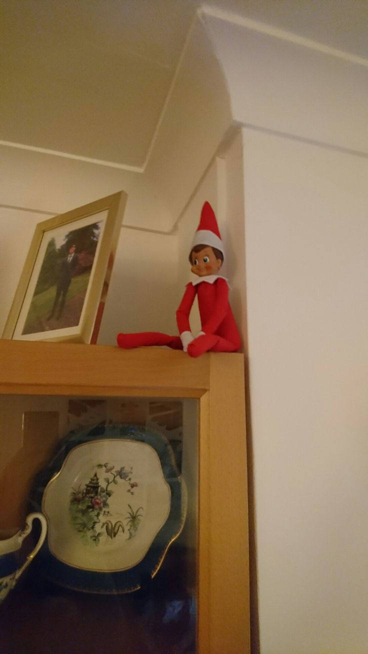 Elf on the Shelf Day 15: a good place for observations