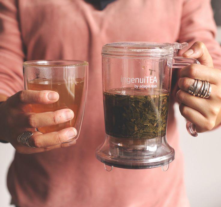 IngenuiTea es lo mejor para preparar tu té. Después de conocerlo te preguntarás ¿Como vivía sin el?