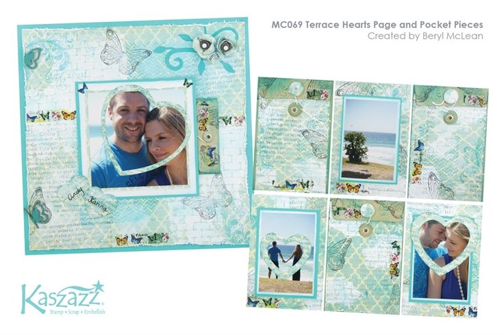 MC069 Terrace Hearts Page and Pocket Pieces