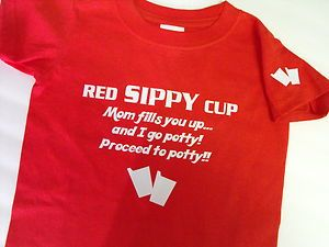Red Sippy Cup T-Shirt - Red Solo Cup - Infant/Child Size - Toby Keith - Custom