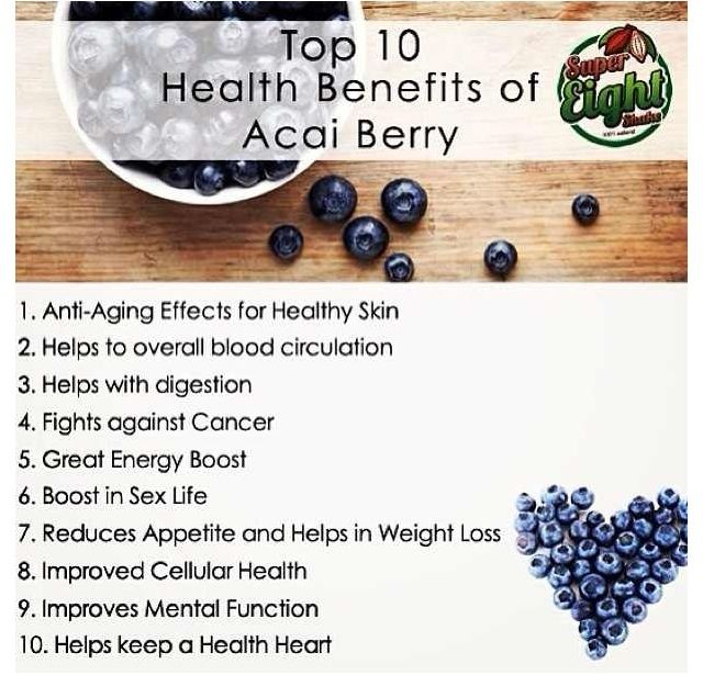 What acai berry may do for your health