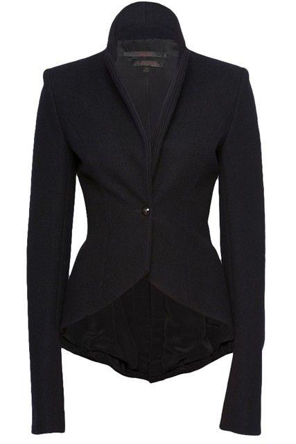 L'Wren Scott drape fitted jacket