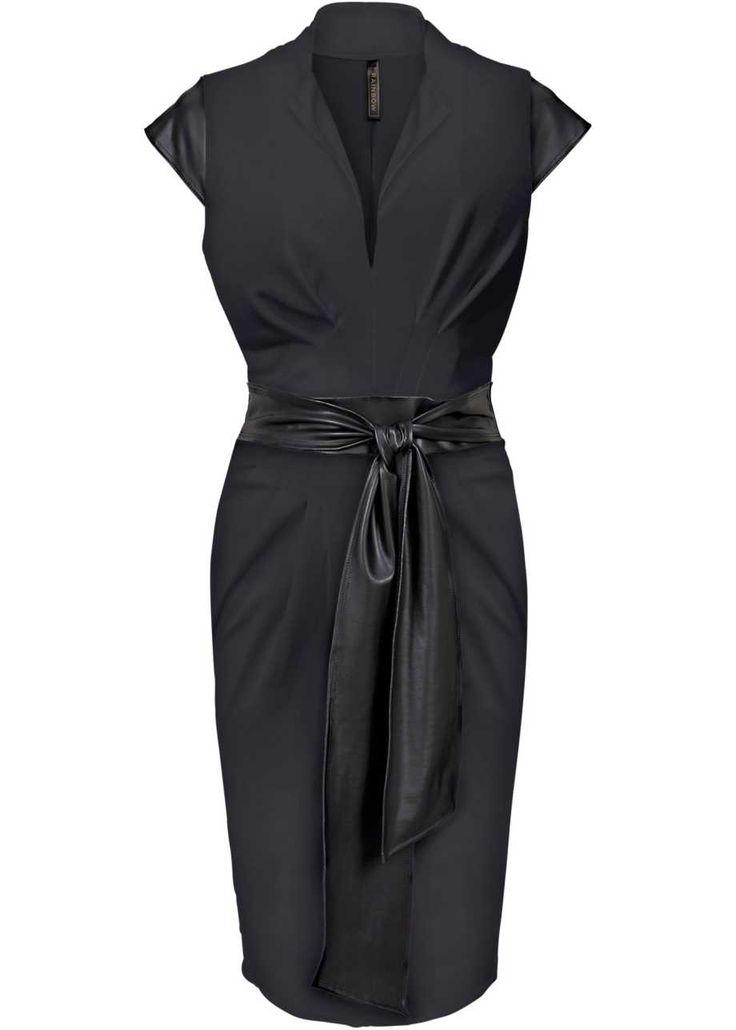 Kleid, BODYFLIRT boutique, giraffe schwarz/weiß