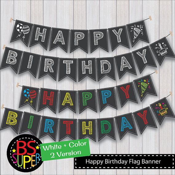 25+ Best Ideas About Happy Birthday Chalkboard On