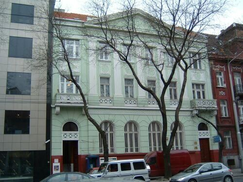 Pozsonyi volt szabadkőműves páholyház - ma / The old masonic lodge house in Pozsony - nowadays.