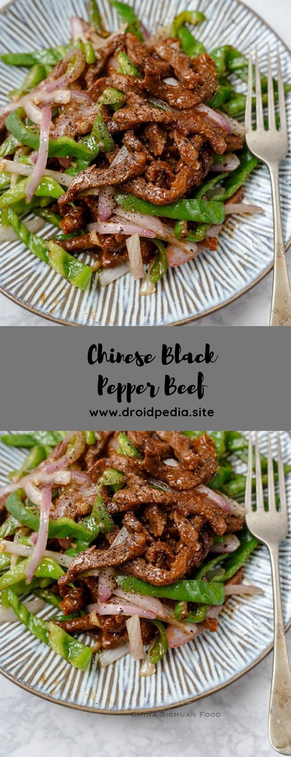 Chinese Black Pepper Beef #beef #blackpapper #maincourse