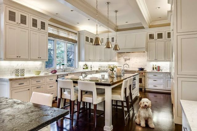 awesome long narrow kitchen island with seating | 17 Best images about Kitchen islands with seating on end ...