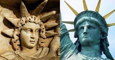 The Secret Worship of the Illuminati: The Statue of Liberty is Anunnaki Goddess Inanna who morphed into Ishtar / Isis / Esther