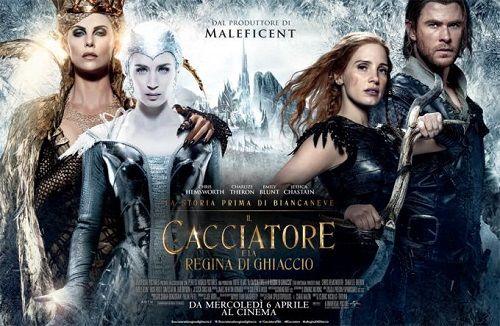 Il Cacciatore e la Regina di ghiaccio la recensione del film con Chris Hemsworth e Charlize Theron