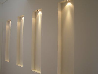 The wall niches ARQUITECTURE_LIGHTING Pinterest
