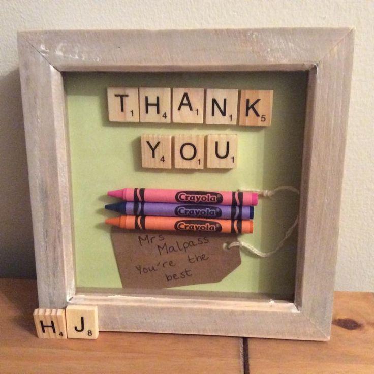 Thank you frame - ideal for a teacher