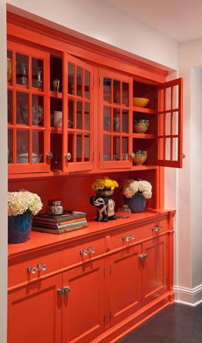 Coral cupboard