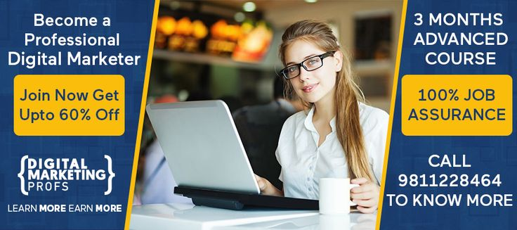 Learn Advanced Digital Marketing Course in 3 Months from Industry Professionals