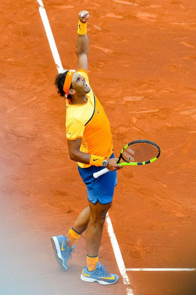 Rafael Nadal Photos - Barcelona Open Banc Sabadell - Day 6 - Rafa did not play his best tennis and the German was ready to take full advantage. Rafa did win, but will have to play better to win the final against the very determined Japanese.