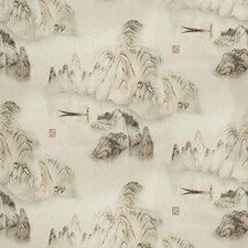 Mist Asian Drapery and Upholstery Fabric by Kravet