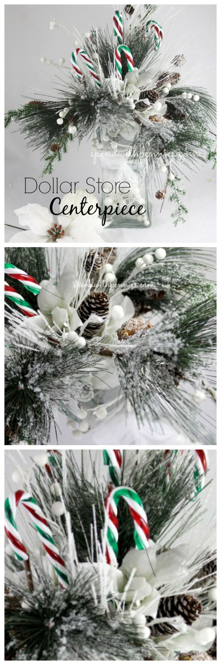 Create A Stunning Centerpiece With Dollar Store Items! This Beautiful  Centerpiece Cost Only $9 To